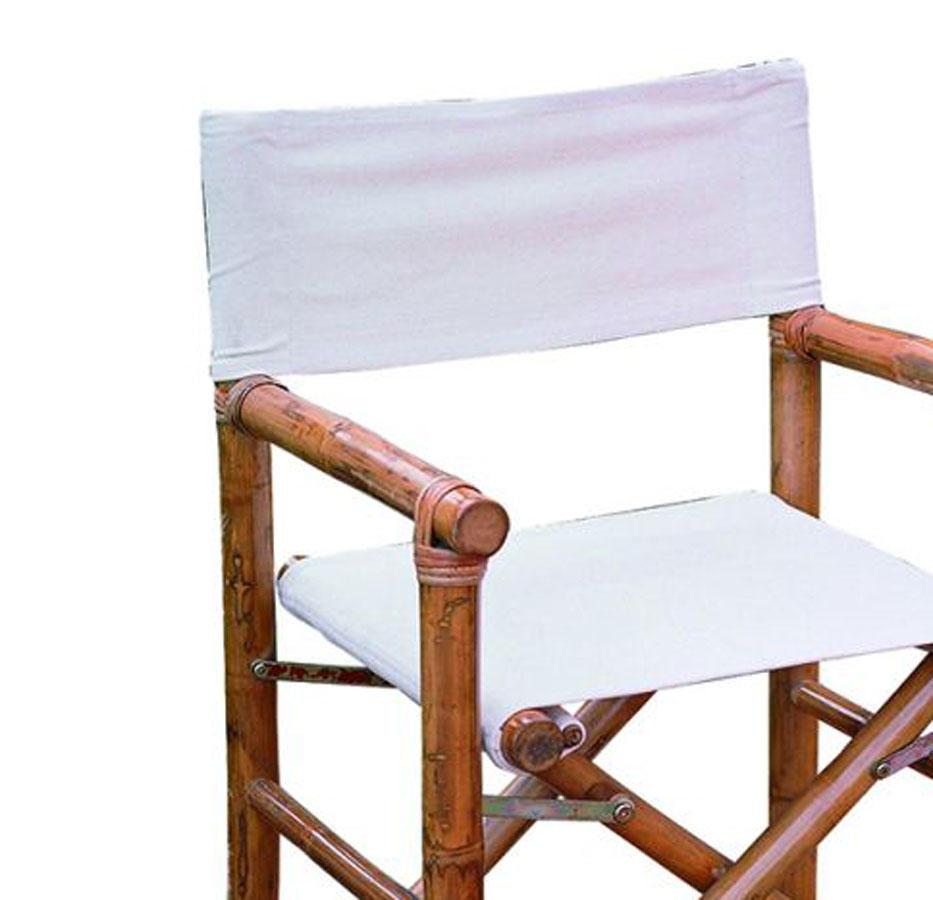 Sedia Da Regista Offerte.Offerta Tela Ricambio Per Sedie Regista Bambu Chb 02
