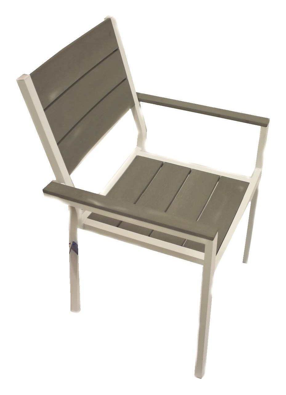 Set terry tavolo antracite grigio cm 156 212x90 con 6 poltrone - Terriccio da giardino prezzo ...
