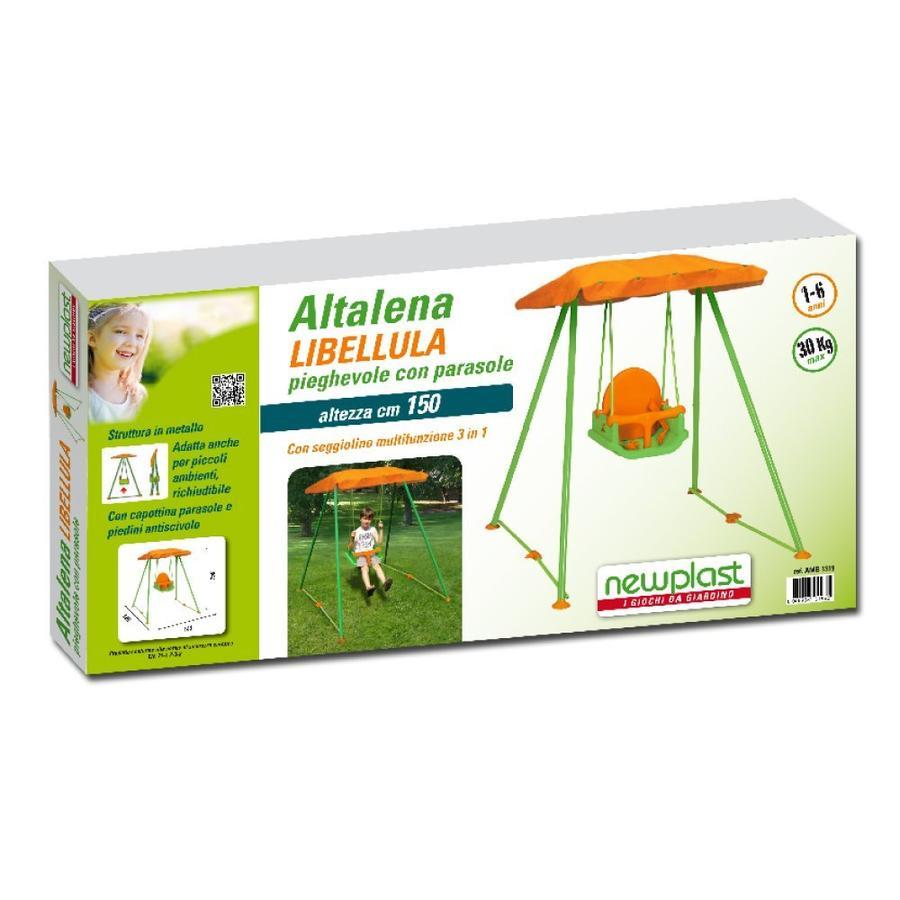 Altalena in metallo libellula per bimbi 36 mesi con for Altalena chicco amazon