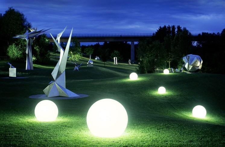 Luci a palla per esterno sfera luci led 【 offertes novembre