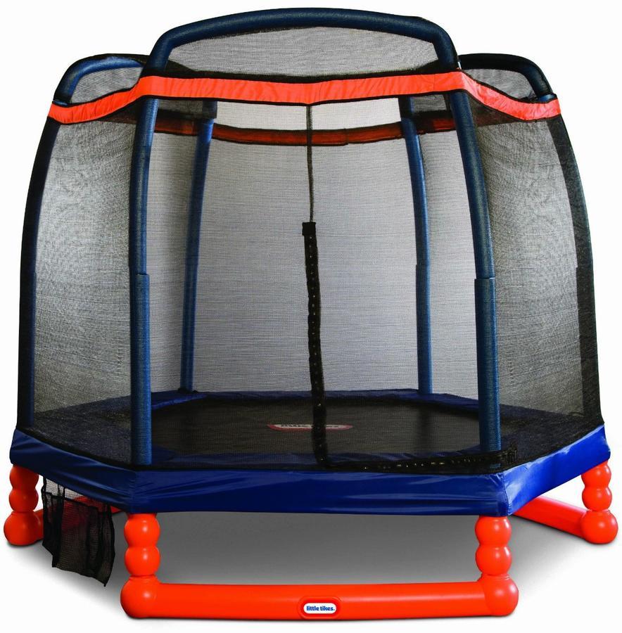 Tappeto elastico da giardino per bambini trampolino 2 for Altalena chicco super swing