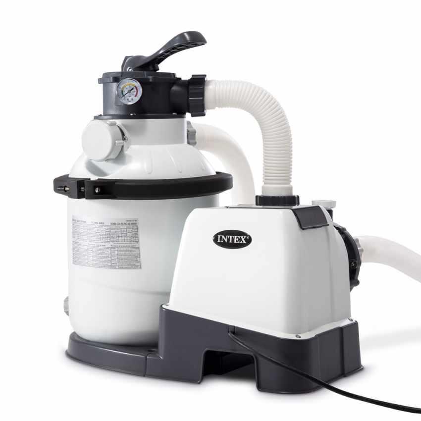 Depuratore Per Piscina.Pompa A Sabbia Per Piscine Filtro Depuratore Sabbia Piscina Piscine 6 Vie 4 Mc 4500 Lt H Intex 26644