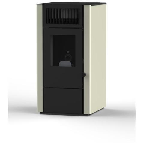 EVA CALOR - Stufa a Pellet Dora Potenza Termica Nominale 8 kW Colore ...