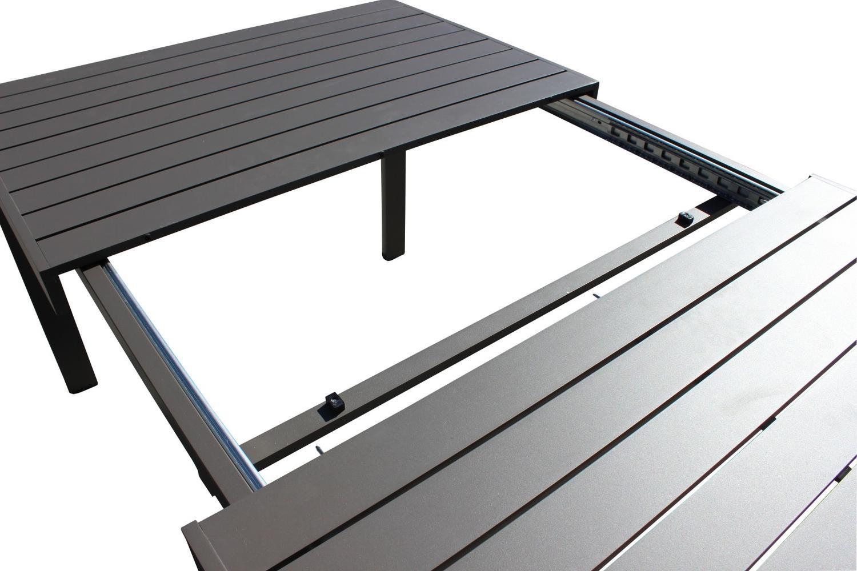 Tavolo Giardino Resina Allungabile.Tavolo Da Giardino In Alluminio Belluno Misura 180 240 X 100 H
