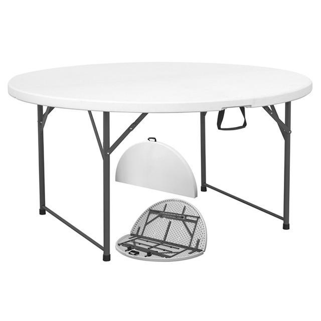 Tavoli Pieghevoli Plastica Per Catering.Tavolo Pieghevole 150 180 Catering Pic Nic Campeggio In Resina