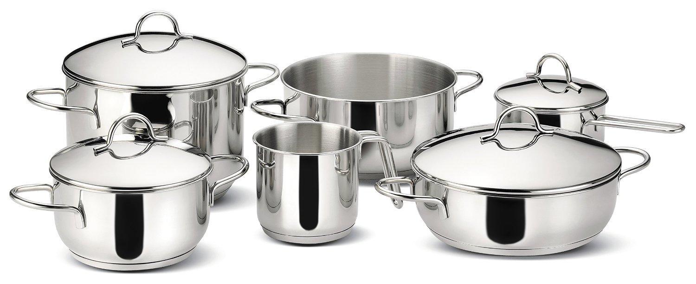 Lagostina set di pentole 10 pz gran cucina for Amazon cucina