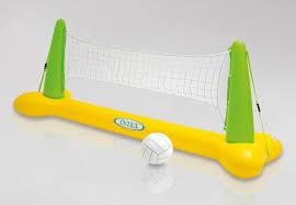 56508 intex rete pallavolo gonfiabile gigante da piscina con palla - Rete pallavolo piscina ...