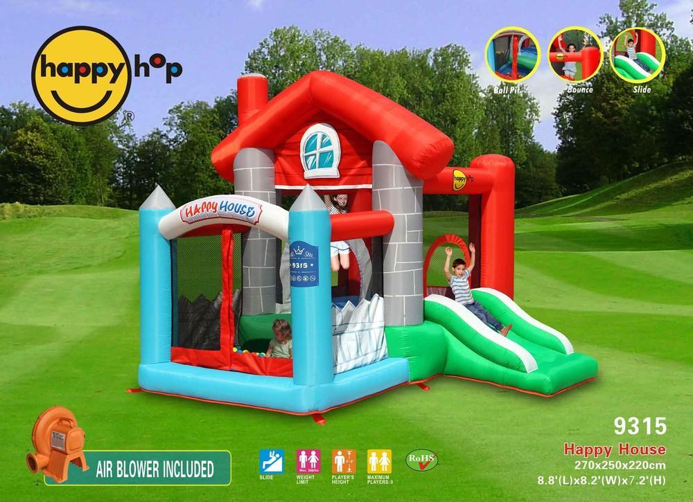 Tavoli Da Giardino Happy Casa : Happy casa art 9315 grazioso gonfiabile happy hop con scivolo