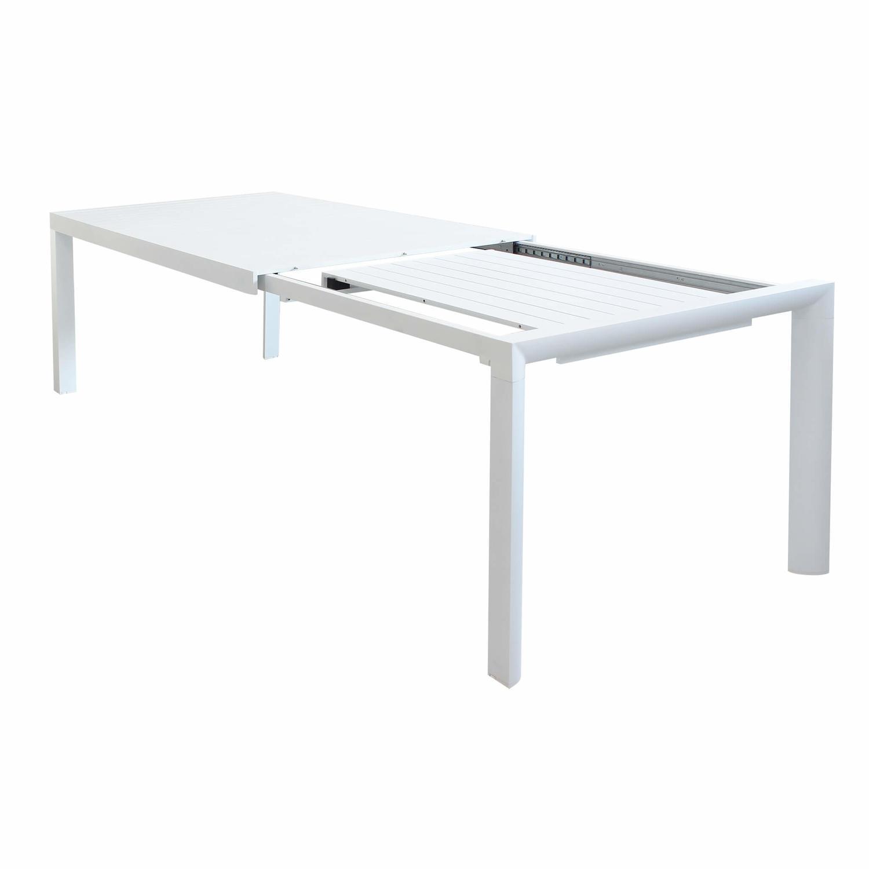 Tavolo da giardino in alluminio BELLUNO misura 180 / 240 x ...
