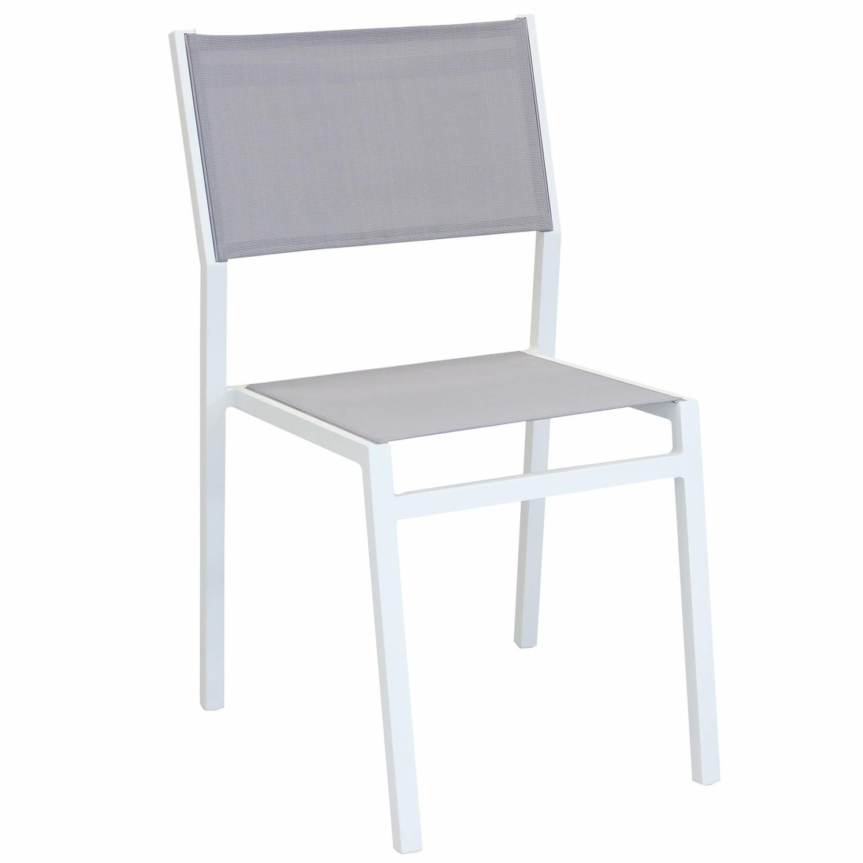 Sedie Bianche In Offerta.Offerta Sedia Impilabile Da Giardino Avanas Mini In Textilene