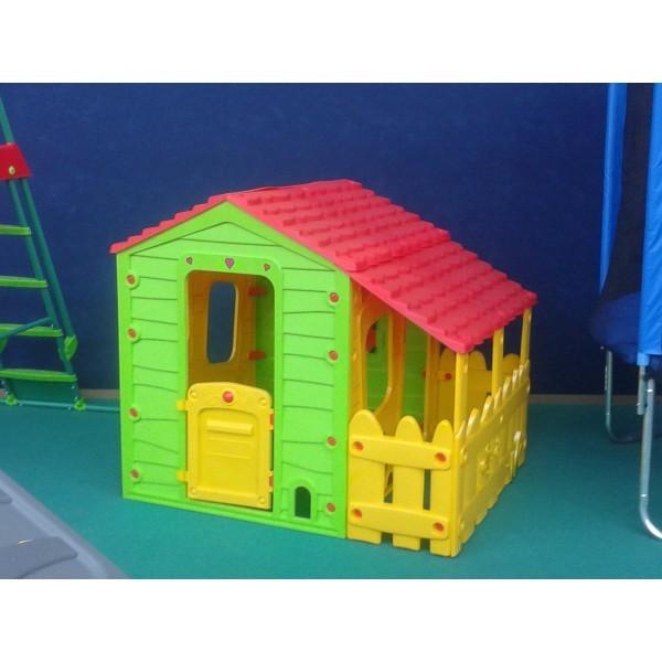 Casetta da giardino per bimbi fun farm casetta in plastica - Casette per bimbi da giardino ...