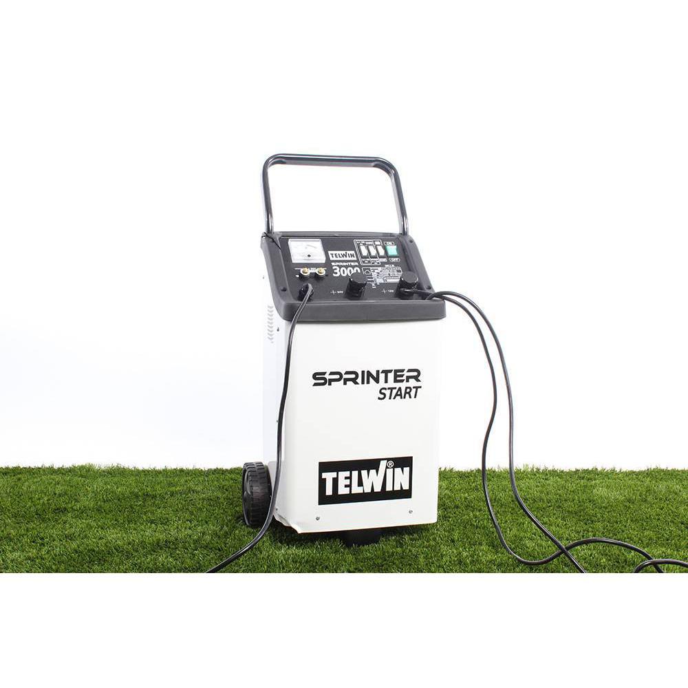 per batterie 12//24V Caricabatterie auto e avviatore Telwin Sprinter 3000 Start