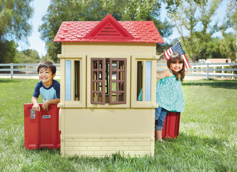 Casetta little tikes cape cottage 9037902 da 3 a 7 anni di for Planimetrie delle case in stile cape cod