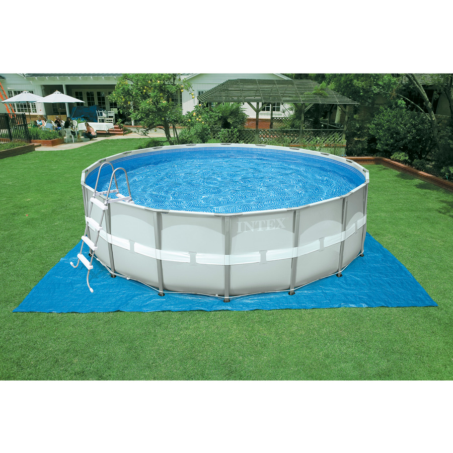 Piscina intex 26324 plus ultraframe rotonda 488 x 122 cm for Piscine intex amazon