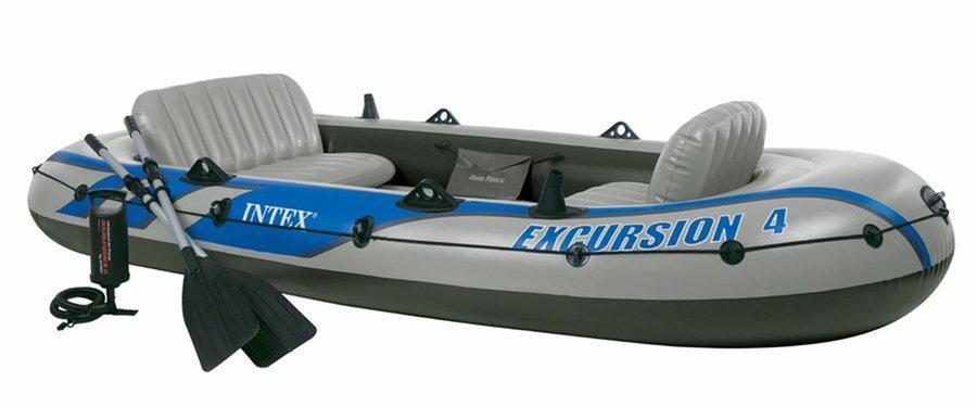 68324 Pesca Gommone Intex Mare Set Excursion Canotto Gonfiabile 4 A34j5LRq