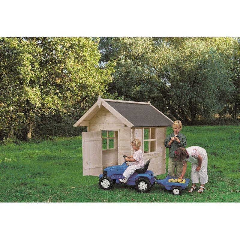 Casetta mod bimbi art 59912120 casetta in legno per for Tutto x giardino