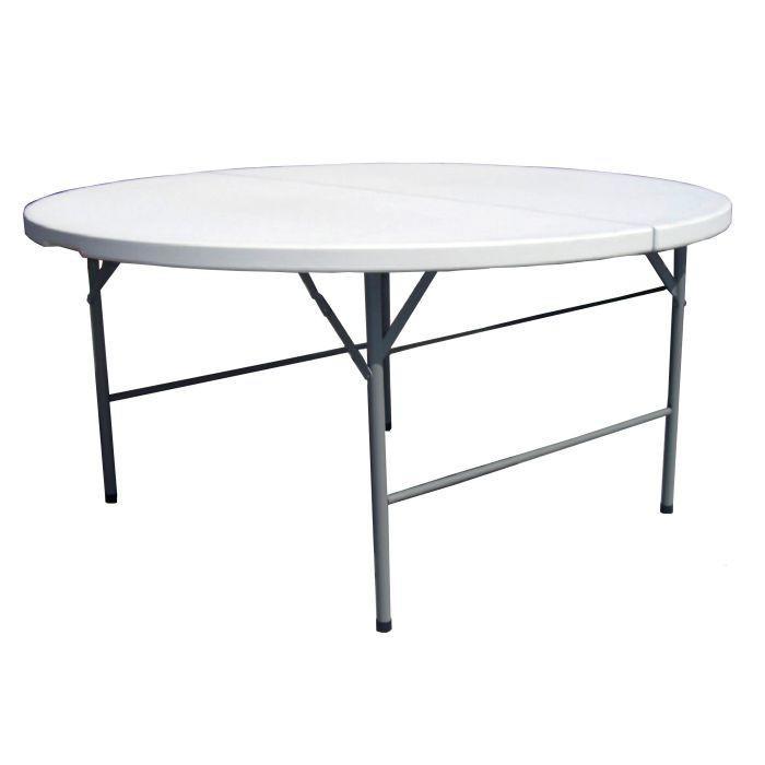 Tavolo Rotondo Pieghevole Per Catering Diam 180 Pieghevole