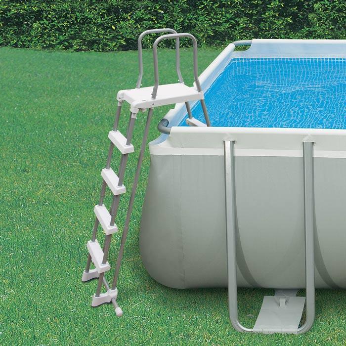 Scaletta piscina intex 28074 122 132 cm piscina piscina - Scaletta piscina intex ...