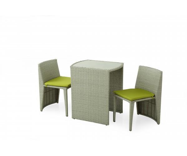 Sedie E Tavoli Da Giardino In Vimini.Design Compatto Per Un Set Che Unisce Eleganza E Funzionalita Il