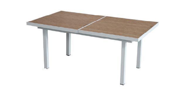 TAVOLO CANAZEI ALLUNGABILE 180/250×96 cm piano in resin wood color ...