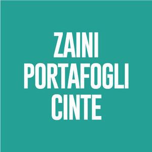 Zaini - Cinte - Portafogli