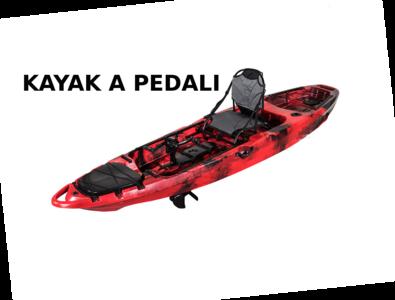 Kayak a pedali