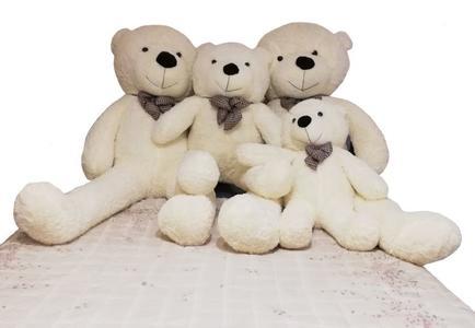 Orsacchiotti Peluche Teddy Bianco