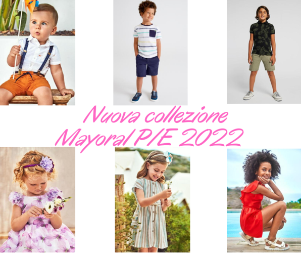 Mayoral New Collection P/E 2021