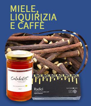 Miele,  Liquirizia e Caffè