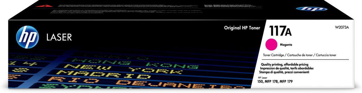 Cartuccia Toner Magenta 117A per HP Laser Jet 150 -MFP178/179