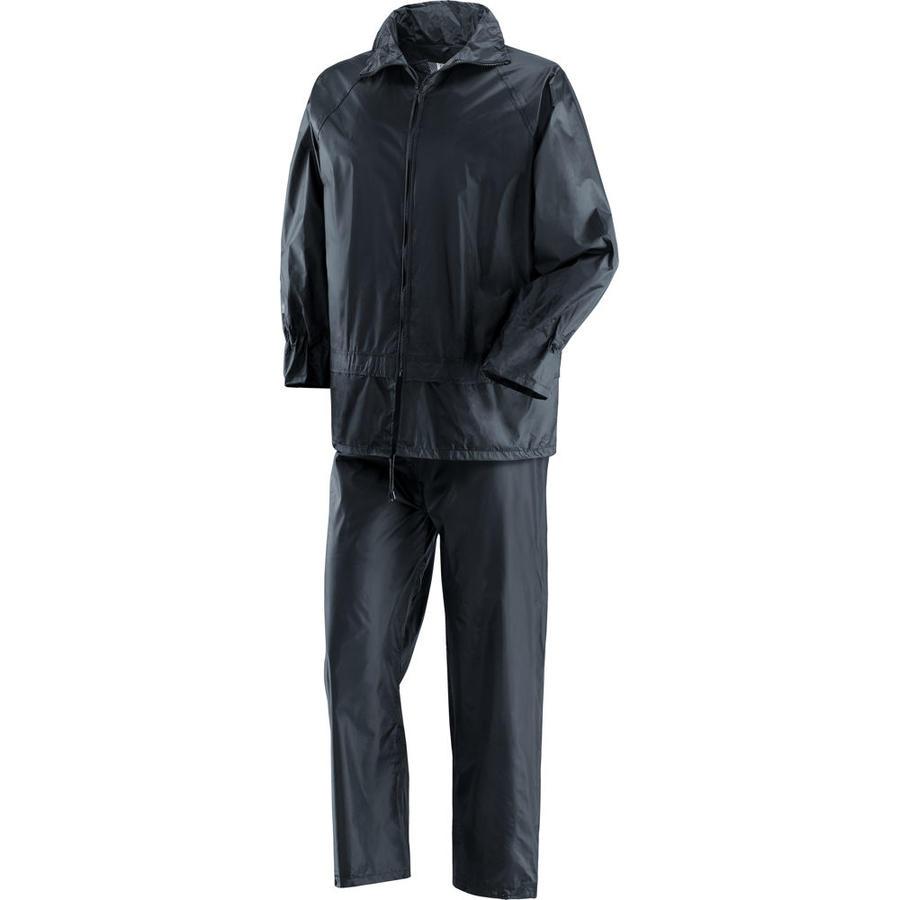 Completo impermiabile Niagara giacca e pantalone in poliestere, spalmato internamente in PVC