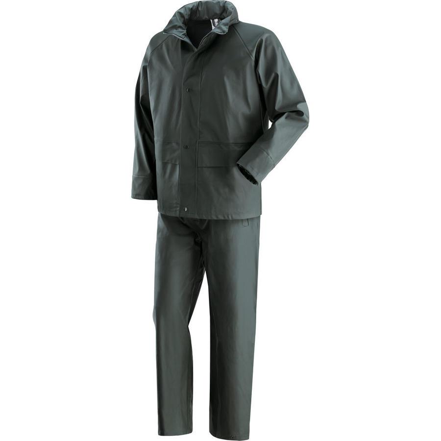 Completo giacca e pantalone in PVC/PU con supporto 100% poliestere IGUAZU