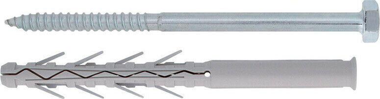 Tup4 Tassello in Nylonø  10 mm  Friulsider con vite TE - 50 pz