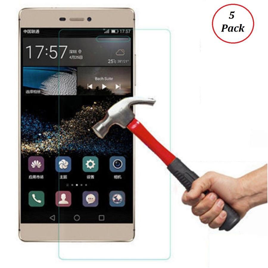 5 Pack Pellicola in Vetro Temperato per Huawei P8 Lite Smart Antiurto Protettiva