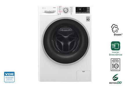 LG lavatrice 9kg 1400g A+++ -30% di consumo energetico annuo F4J7VY1W