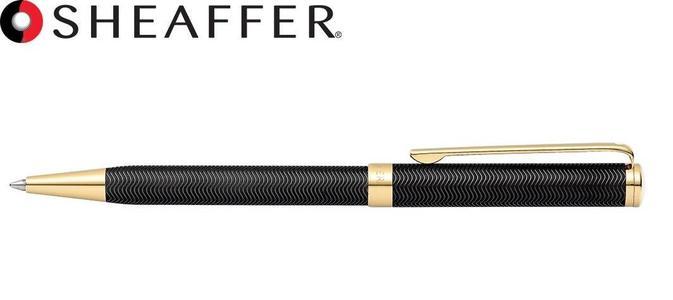 SHEAFFER INTENSITY - Penna a sfera lacca nera cesellata finiture oro