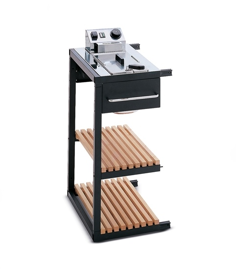 Barbecues professionale a gas BST Magnum friggitrice laterale