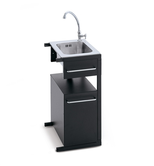 Barbecues professionale a gas BST Magnum lavello lavabo rubinetto
