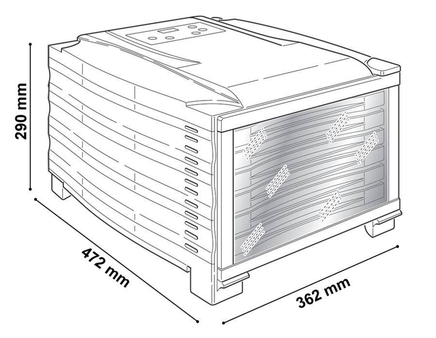 Essiccatore RGV Digital