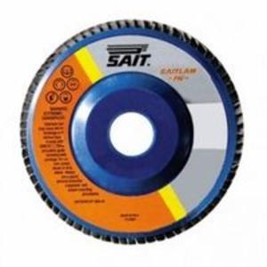 Disco lamellare Sait per smerigliatrice. Per sgrossature e finiture 115X22,23