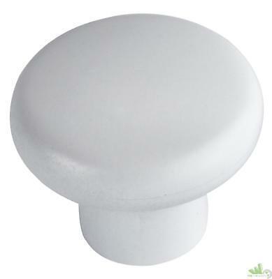 pomello bianco laccato