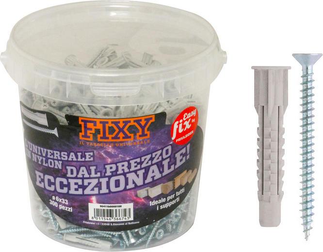 Fixy tassello universale 130 pz - 8x51