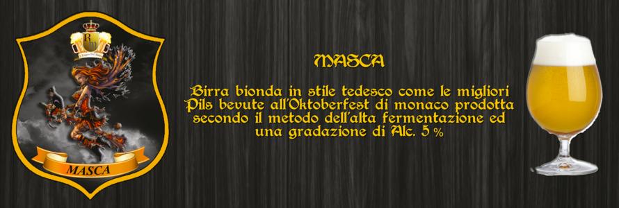 """Birra Artigianale  """"MASCA"""""""