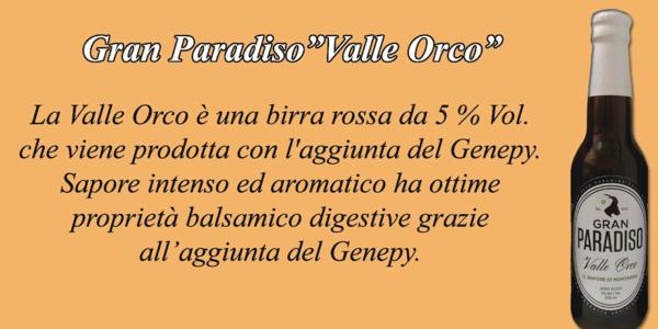 "Birra Artigianale ""VALLE ORCO"" 330 ml"