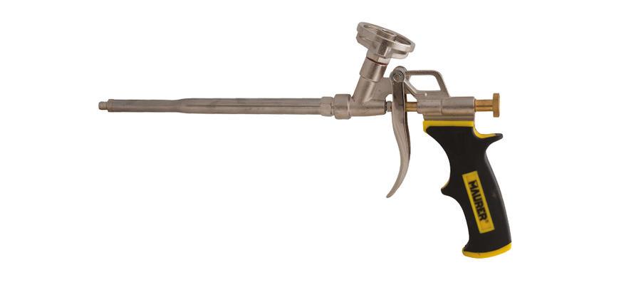 Pistola per schiuma poliuretanica attacco universale