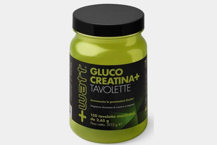 GLUCO CREATINA + 150 Tavolette masticabili