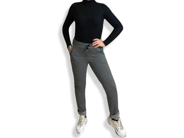Pantalone sportivo donna tuta pantatuta da palestra fitness aderente sport taglia unica
