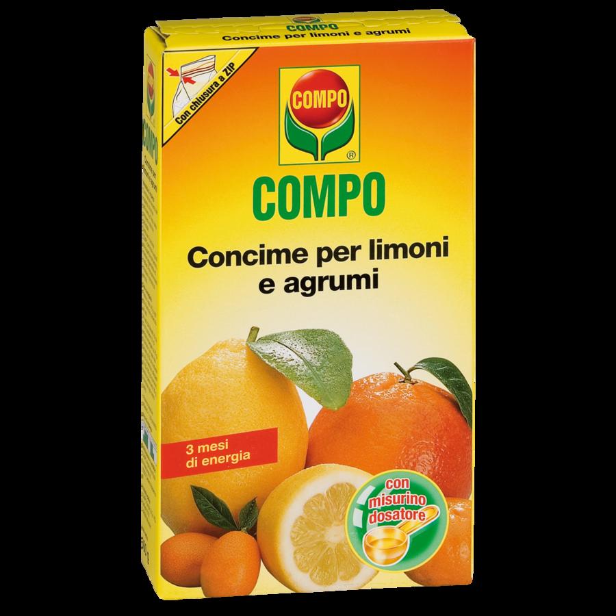 Concime per Limoni e Agrumi Ornamentali Compo 500 gr