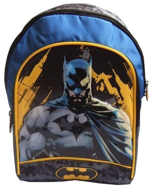 Zaino Asilo Batman - F.C. Panini 53211 - 30 x 23 x 15.5 cm