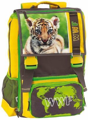 Zaino estensibile con borraccia WWF Cucciolo Tigre - F.C. Panini 52893
